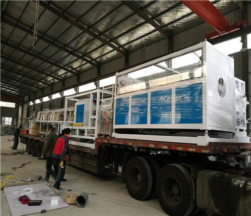 天信泰PE供水管生产线发货案例