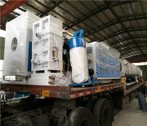 青岛天信泰塑料机械有限公司发货案例