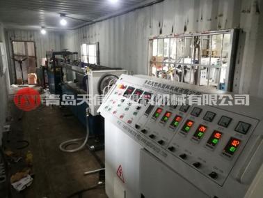 集装箱预应力波纹管设备发往贵州