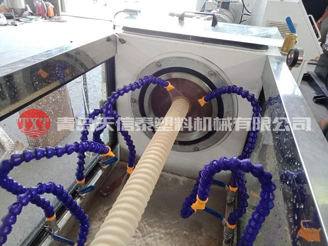PVC碳素螺旋管生产线