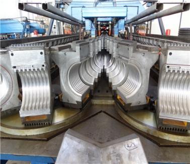 PE双壁波纹管生产线